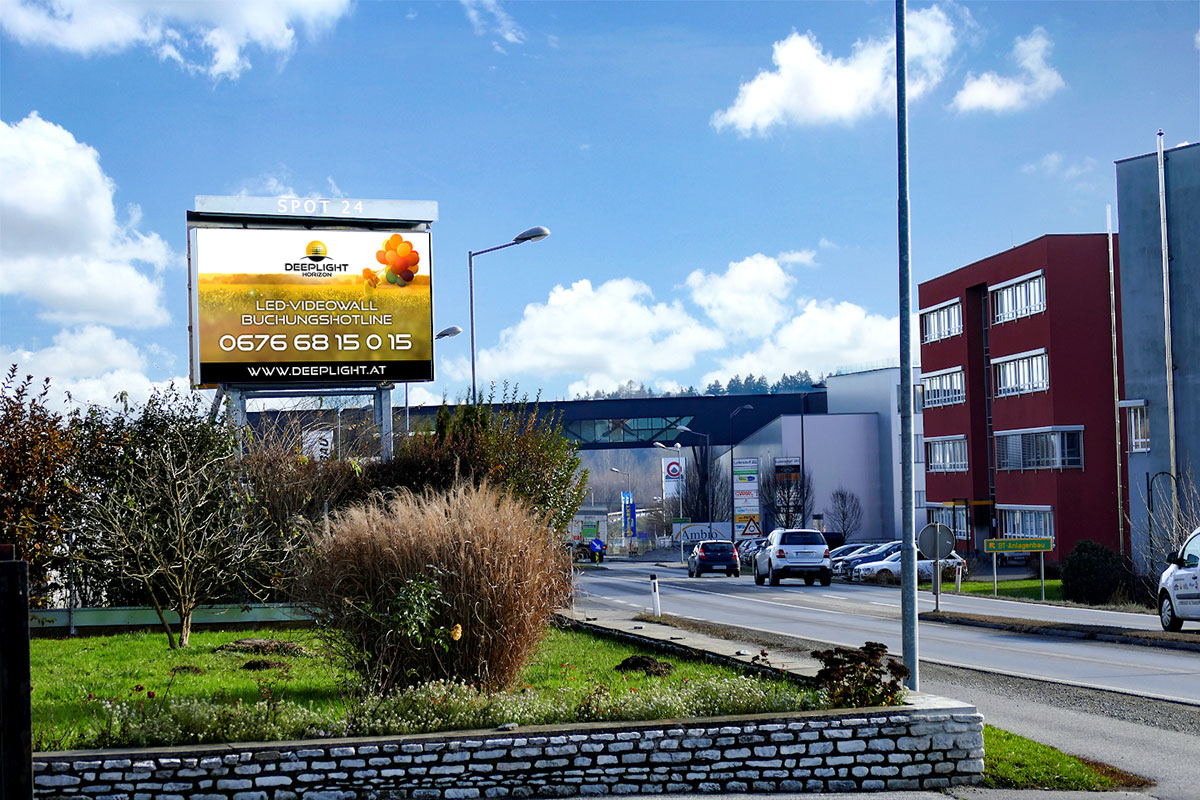 LED-Videowall Ludersdorf